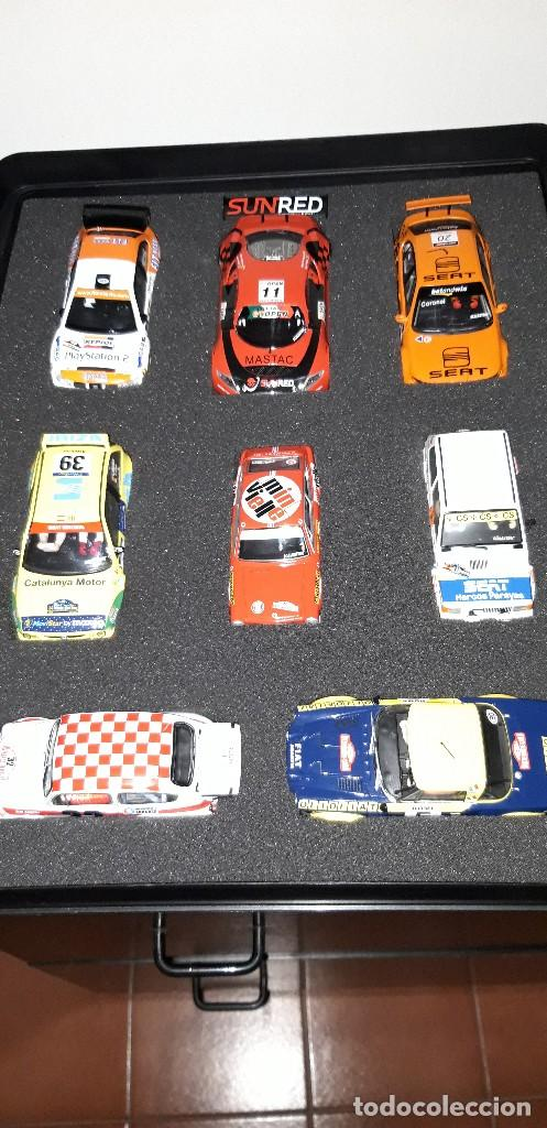 COLECCIÓN SEAT SPORT (16 COCHES) ALTAYA (Juguetes - Slot Cars - Scalextric Tecnitoys)