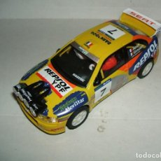 Scalextric: SEAT CORDOBA WRC ALTAYA SCALEXTRIC TECNITOYS. Lote 138525898