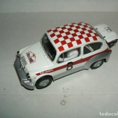Scalextric: FIAT ABARTH 1000 ALTAYA SCALEXTRIC TECNITOYS. Lote 138526546