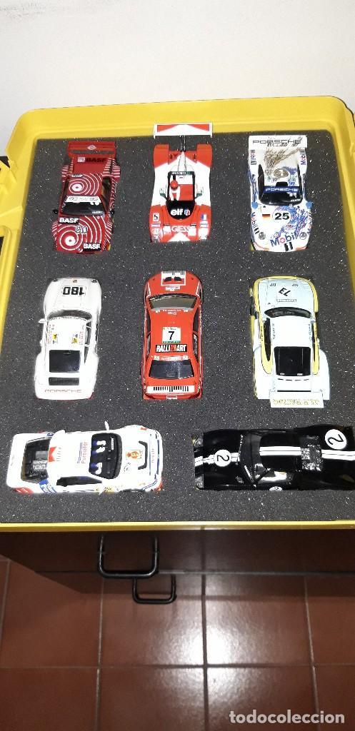 COLECCIÓN DUELOS MÍTICOS (16 COCHES) ALTAYA (Juguetes - Slot Cars - Scalextric Tecnitoys)