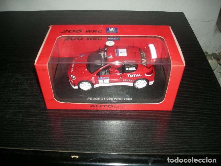 "13511 PEUGEOT 206 WRC 2003 ""GRONHOLM"" AUTO ART (Juguetes - Slot Cars - Scalextric Tecnitoys)"