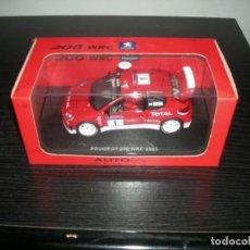 "Scalextric: 13511 PEUGEOT 206 WRC 2003 ""GRONHOLM"" AUTO ART . Lote 139951146"
