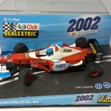 Scalextric: SCALEXTRIC JAGUAR F1 CLUB SCALEXTRIC 2002 TECNITOYS REF. 6105. Lote 139974418