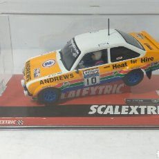 Scalextric: SCALEXTRIC FORD ESCORT MKII HEAT FOR HIRE REF. A10147S300. Lote 171617157