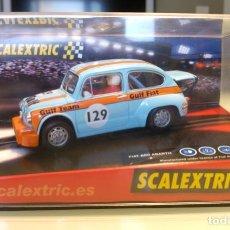 Scalextric: FIAT 600 ABARTH SCALEXTRIC GULF. Lote 140651362