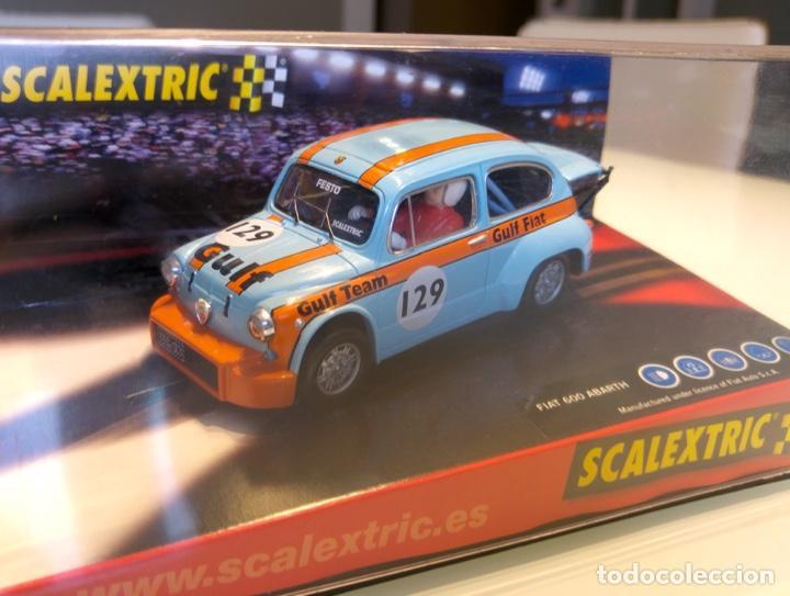 Scalextric: FIAT 600 ABARTH SCALEXTRIC GULF - Foto 2 - 140651362