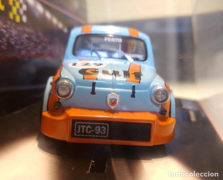 Scalextric: FIAT 600 ABARTH SCALEXTRIC GULF - Foto 3 - 140651362