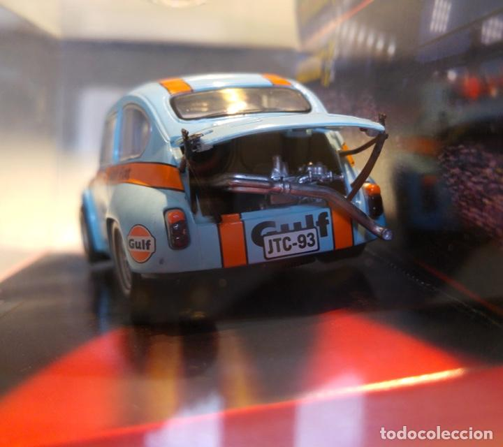 Scalextric: FIAT 600 ABARTH SCALEXTRIC GULF - Foto 4 - 140651362