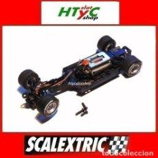 Scalextric: SCALEXTRIC FORMULA 1 CHASIS MOTOR GUIA EJE TRASERO Y DELANTERO RUEDAS TORNILLOS. Lote 141082906