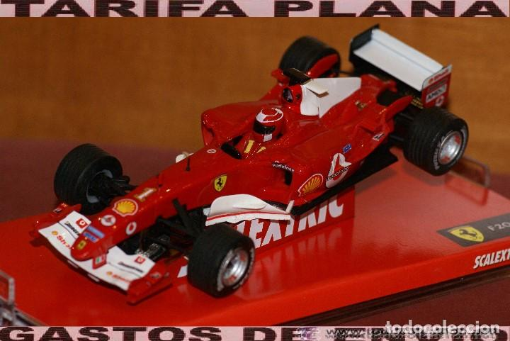 FERRARI F1 2004 F2004 MICHAEL SCHUMACHER SLOT CAR ESCALA 1:32 DE SCALEXTRIC EN CAJA (Juguetes - Slot Cars - Scalextric Tecnitoys)