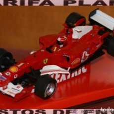 Scalextric: FERRARI F1 2004 F2004 MICHAEL SCHUMACHER SLOT CAR ESCALA 1:32 DE SCALEXTRIC EN CAJA. Lote 142346566