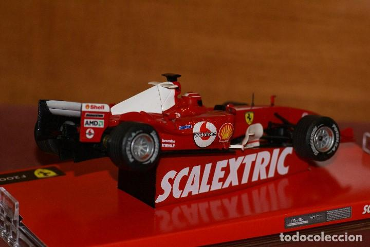 Scalextric: FERRARI F1 2004 F2004 MICHAEL SCHUMACHER SLOT CAR ESCALA 1:32 DE SCALEXTRIC EN CAJA - Foto 4 - 142346566