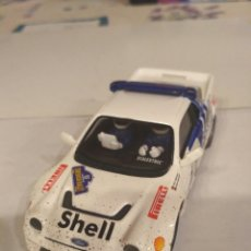 Scalextric: SCALEXTRIC FORD RS 200 EFECTO BARRO. Lote 143100140