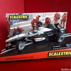 Scalextric: SCALEXTRIC MC LAREN F-1 DAVID. Lote 143899153