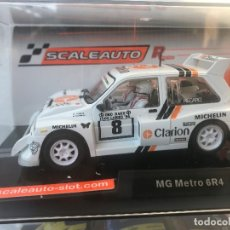 Scalextric: MG METRO 6R4 CLARION SCALEXTRIC SCALEAUTO R CHASSIS REFERENCIA SC-6153R. Lote 240495420