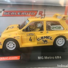 Scalextric: MG METRO 6R4 CAMEL SCALEXTRIC SCALEAUTO R CHASSIS REFERENCIA SC-6154R. Lote 212553442
