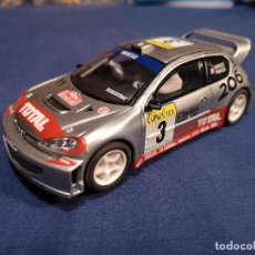 Scalextric: SCALEXTRIC PEUGEOT 206 WRC #3. Lote 144082170