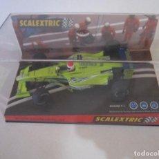 Scalextric: COCHE DE SCALEXTRIC MARC GENE SUPERSLOT SLOT FLY CARS SCALEXTRIC NINCO NUEVO EN SU CAJA SIN USO. Lote 144101306