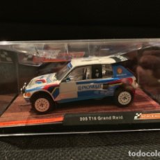 Scalextric: PEUGEOT 205 GRAND RAID SCALEXTRIC SCALEAUTO AFRICA LEGENDS REFERENCIA SC-6106. Lote 144154948