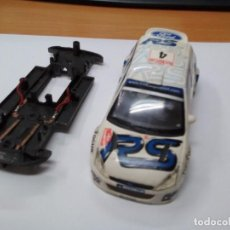 Scalextric: SLOT CARROCERIA Y CHASIS FORD FOCUS SCALEXTRIC. Lote 144237310
