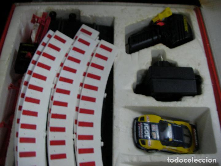 Scalextric: GRAN CIRCUITO SCALEXTRIC SILVERSTONE VEHICULOS FERRARI F-40 Y PORSCHE 911 GT - Foto 6 - 145365618