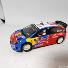 Scalextric: SCALEXTRIC CITROEN C4 WRC TECNITOYS ALTAYA. Lote 145858345