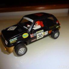 Scalextric - Scalextric. Planeta. Renault 5 Copa negro. - 147230698