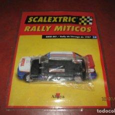 Scalextric: CHASIS BMW M3 RALLY DE CÓRCEGA DE 1987 FASCÍCULO DE RALLY MÍTICOS DE ALTAYA. Lote 147357766