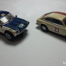 Scalextric: FIAT ABARTH 124 Y SEAT 850 COUPÉ DE SCALEXTRIC ALTAYA. Lote 147528330
