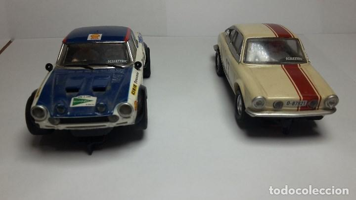 Scalextric: Fiat Abarth 124 y Seat 850 Coupé de scalextric Altaya - Foto 2 - 147528330
