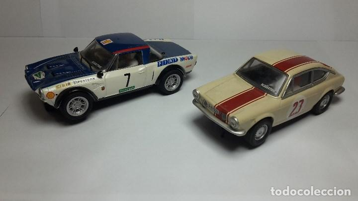 Scalextric: Fiat Abarth 124 y Seat 850 Coupé de scalextric Altaya - Foto 3 - 147528330