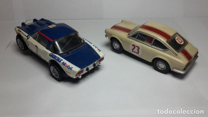 Scalextric: Fiat Abarth 124 y Seat 850 Coupé de scalextric Altaya - Foto 4 - 147528330