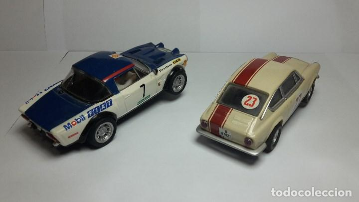 Scalextric: Fiat Abarth 124 y Seat 850 Coupé de scalextric Altaya - Foto 6 - 147528330
