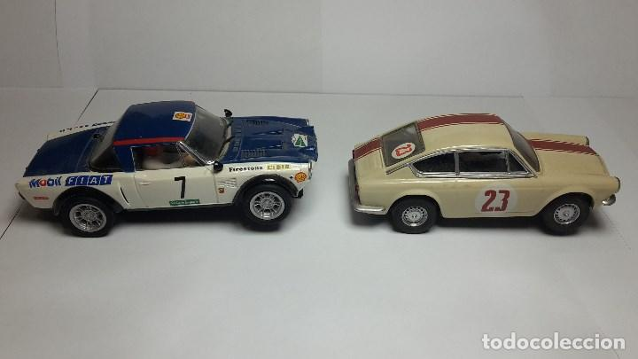 Scalextric: Fiat Abarth 124 y Seat 850 Coupé de scalextric Altaya - Foto 7 - 147528330