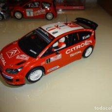 Scalextric: SCALEXTRIC. CITROEN C4 WRC. LOEB. RALLY MONTECARLO 2007. Lote 147546102