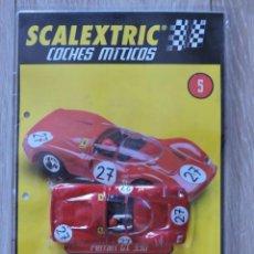 Scalextric: SCALEXTRIC COCHES MITICOS - FASCÍCULO Nº 5 CON PARTE DEL COCHE - PRECINTADO. Lote 147870626