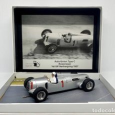 Scalextric: SCALEXTRIC MORETHANSLOT AUTO UNION TYPE C ROSEMEYER 1ST GP NURBURGRING 1937. Lote 148154406