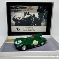 Scalextric: SCALEXTRIC MORETHANSLOT JAGUAR D-TYPE 2ND 24H LE MANS 1954. Lote 148155558