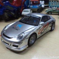 Scalextric: PORSCHE 911 GT3 CUP.LA CAIXA,EDICIÓN LIMITADA.SCALEXTRIC SCX.. Lote 148163662