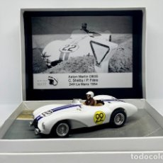 Scalextric: SCALEXTRIC MORETHANSLOT ASTON MARTIN DB3S C. SHELBY 24H LEMANS 1954 EDICION NUMERADA 20 UNIDADES. Lote 148156994