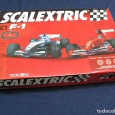 Scalextric: ANTIGUO SCALEXTRIC DE TECNITOYS - C1 F1 - FORMULA 1 - MACLAREN Y FERRARI - . Lote 148369838