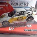 Scalextric: PORSCHE 911 GT3 CUP WHITE. SCALEXTRIC. E.LIMITADA NO VENDIDO EN TIENDAS. NUEVO TRANSFORMADO. Lote 151157964