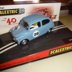 Scalextric: SCALEXTRIC. SEAT 600 40 ANIVERSARIO. Lote 176185395