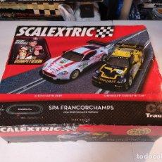 Scalextric: SCALEXTRIC C1 TRACK | SPA FRANCORCHAMPS CON ASTON MARTIN DBR9 Y CHEVROLET CORVETTE C6R. Lote 148693686