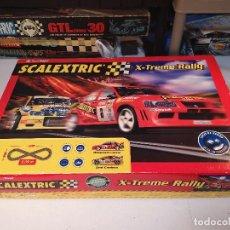 Scalextric: SCALEXTRIC X-TREME RALLY CON SEAT CORDOBA MITSUBISHI LANCER | TECNITOYS. Lote 148696858