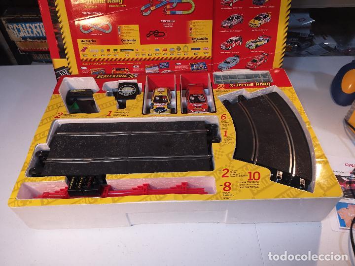 Scalextric: SCALEXTRIC X-TREME RALLY CON SEAT CORDOBA MITSUBISHI LANCER | TECNITOYS - Foto 2 - 148696858