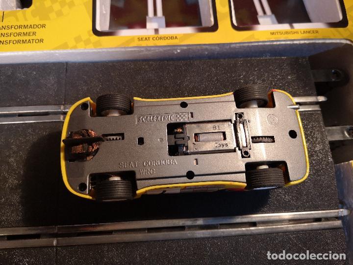 Scalextric: SCALEXTRIC X-TREME RALLY CON SEAT CORDOBA MITSUBISHI LANCER | TECNITOYS - Foto 6 - 148696858