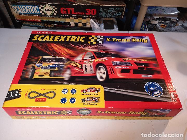 SCALEXTRIC X-TREME RALLY CON SEAT CORDOBA MITSUBISHI LANCER | TECNITOYS (Juguetes - Slot Cars - Scalextric Tecnitoys)