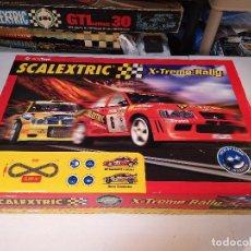 Scalextric: SCALEXTRIC X-TREME RALLY CON SEAT CORDOBA MITSUBISHI LANCER | TECNITOYS. Lote 148697858