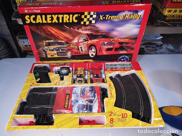 Scalextric: SCALEXTRIC X-TREME RALLY CON SEAT CORDOBA MITSUBISHI LANCER | TECNITOYS - Foto 2 - 148697858